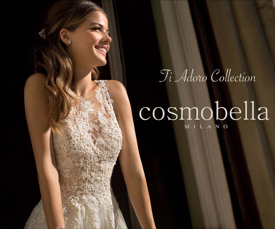 colección de vestidos de novia cosmobella 2018 en franccesca núvies